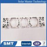 Personalizar el perfil de aluminio anodizado de formas y de materiales de construcción