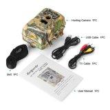 câmera preta da caça de 12MP HD 1080P IR com 2 '' cor TFT LCD IP66 impermeável com escala da deteção até 75FT