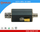 Relâmpago do sistema do CCTV de BNC e protetor de impulso internos