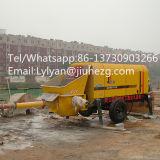 Preço de fábrica da bomba eléctrica de betão celular Tralier trailer do motor da bomba da máquina montada na bomba elétrica de concreto com a lança, Banheira de vendas na China!