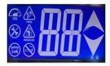 Module graphique d'affichage à cristaux liquides de fond bleu avec les points 240X128