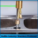 La moderna de la cuenca de cobre simple grifo de diseño, Optimización de la gran lavabo grifo Kaiping