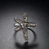 عالة [سترفيش] تصميم نمط مجوهرات [وهيت غلد رينغ] بلّوريّة