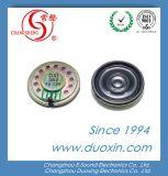 RoHS 36mm 8ohm 0.5W Waterproof o mini altofalante Dxi36n-B de Mylar