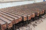 Suelo de bambú tejido soporte al aire libre del precio de fábrica