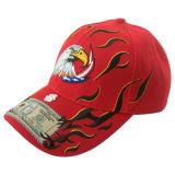 Custom Venta caliente gorra de béisbol con panel insertado