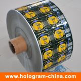 Étiquette d'autocollant imprimé personnalisé de haute qualité