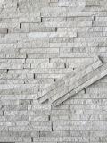 中国の灰色の大理石の壁のクラッディングの製造されたConrber文化石