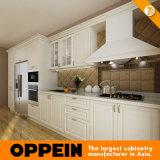 7 Dias de entrega Branco PVC armário de cozinha (OP14-K001)