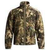 Camo Softshell Jacket Poliéster Padrão de vestuário de caça