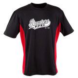Impresso 100% seco Aplicar Mesh Tagless unissexo T-shirts t