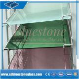 Producir vidrio laminado tintado y clara