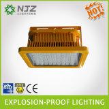 LEIDENE Schijnwerper voor Zone1, 2 Streek 21, de Norm Atex + Iecex van 22 die in het Explosieve Benzinestation van Atmosferen, Chemische Installatie wordt gebruikt