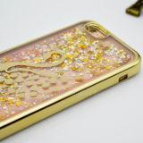 Schitter Gevallen van de Telefoon van Bling van het Kristal van het Drijfzand de Mobiele voor iPhone 6