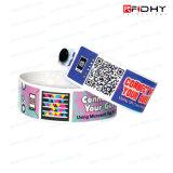 Bracelete descartável de RFID para o bebê do hospital ou o seguimento paciente