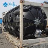 Guardabarros Yokohama marinos con la cadena y los neumáticos