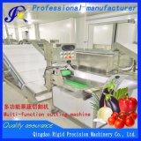 Macchina di verdure dell'affettatrice della taglierina del selettore rotante elettrico automatico della frutta