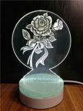 Китай производитель Craft акриловые 3D лазерная гравировка