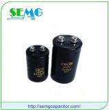 Condensador de alto voltaje electrolítico de aluminio RoHS-Compatible