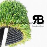 Decoração da qualidade da cor da paisagem quatro grama artificial da melhor/relvado artificial/grama sintética