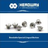 歯科製品、特別な曲げられたLingualボタンのセリウム、FDA、ISO13485