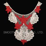 Nuovo collare del merletto ricamato disegno staccabile per il vestito dalle donne