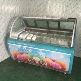 Heiße verkaufen16 Tellersegment-Eiscreme-Bildschirmanzeige-Gefriermaschine