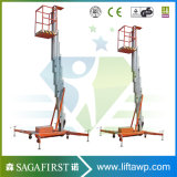platform van de Lift van het Venster van 5m het Schone omhoog Elektrische Mobiele Hydraulische Werkende