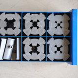 Ce 10 комплектов освобождает машину гидровлического шланга цены по прейскуранту завода-изготовителя Dx68 плашек гофрируя