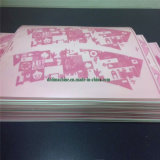 ノートおよび演習帳プリント機械のための1.70mmの柔らかい樹脂のFlexoの印刷版