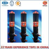 Cylindre télescopique à plusieurs étages pour la remorque lourde de vidage mémoire