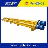 Transportador de tornillo industrial del uso del cemento de la maquinaria de construcción D219