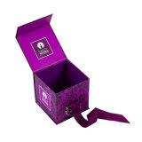 Personnaliser la boîte en carton pliable de empaquetage de forme de cube en parfum