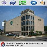 Modulare Bescheinigung kundenspezifisches vorfabriziertstahlkonstruktion-Gebäude