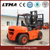Nuevo precio diesel de la carretilla elevadora 5t de Ltma con los neumáticos delanteros duales