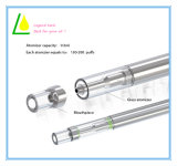 LED 가벼운 유리제 기화기 Cbd Thc Vape 펜 처분할 수 있는 E 담배