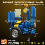 O motor diesel da bomba de lixo de escorva automática