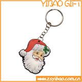 크리스마스 선물을%s 가진 공장 가격 PVC Keychain 또는 열쇠 고리