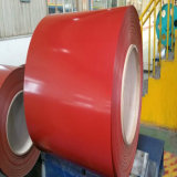 Le matériau de la feuille Gi/PPGI de toiture de Dx51d a enduit la bobine d'une première couche de peinture en acier