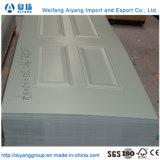 Китай оптовая торговля внутренней декоративной деревянной фанера MDF/ HDF двери цена кожи