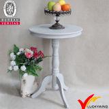 Прикроватный столик античного розового постамента краски деревянный малый