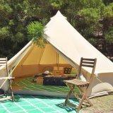 Festa de família Hotel Caso Lona de Algodão 5m Bell tenda para a festa