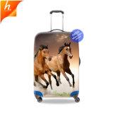 Horse печати чемодан индивидуальные поездки КРЫШКИ БАГАЖ