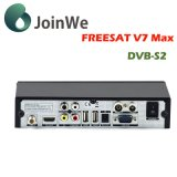 1080P voller HD DVB-S2 Freesat V7 maximaler Satellitenempfänger