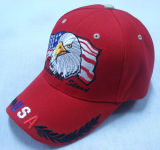Горячая бейсбольная кепка спорта сбывания с 3D логосом Bb228