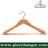De in het groot Hanger van het Kostuum van Cedarwood van de Hoogste Kwaliteit met Staaf voor de vertoning van de Winkel van de Kleding