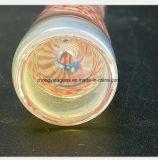 2.95 Zoll-rosafarbenes Muster-Glas-Wasser-Rohr des Gefäßes