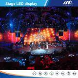 2016 visualizzazioni di LED personalizzate locative dell'interno di pubblicità dello schermo di visualizzazione del LED della fase di P4.8mm (576*576)