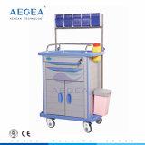 Geduldige Behandlung AG-At001A3 Plastik-ABS Karosserien-materielle Anästhesie-Laufkatze