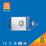 Fabricante 80W Bridgelux chips Meanwell driver de rua LED